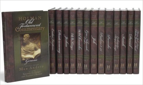 holman bible commentary set