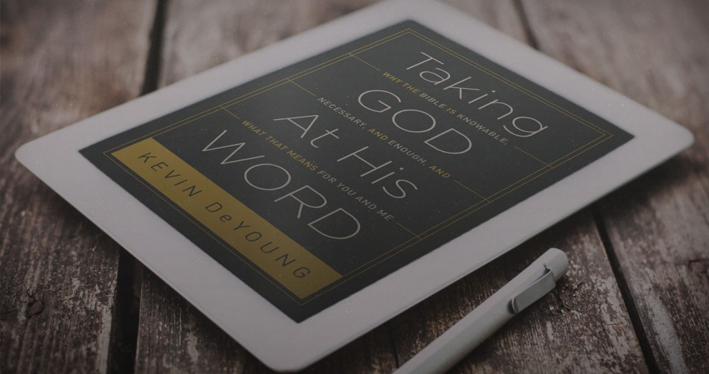 Take god at his word book