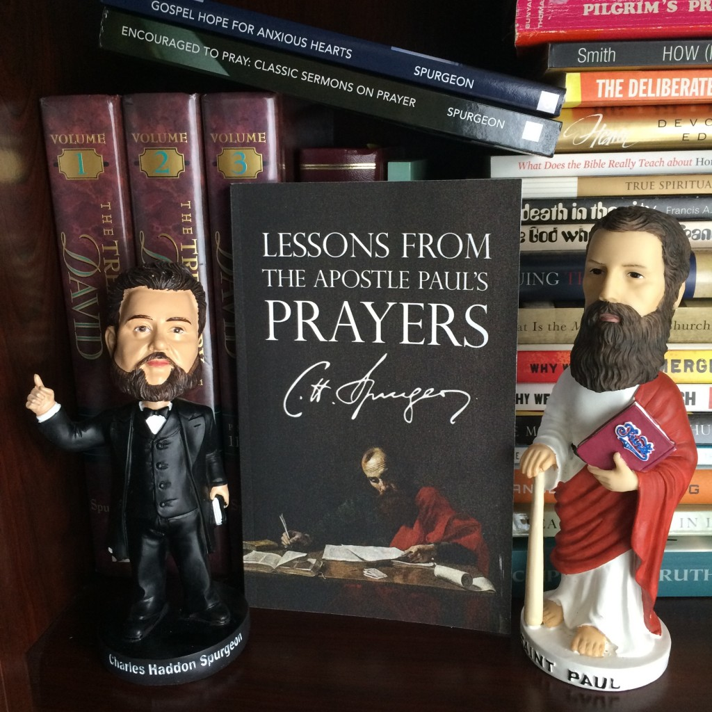 Charles Spurgeon Bobblehead with the Apostle Paul